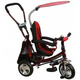 Tricicleta cu copertina si sezut reversibil Baby Mix Safari WS611 bordo