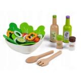 Set Ecotoys legume pentru salata cu bol