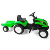 Tractor cu Remorca Falk Garden Master green