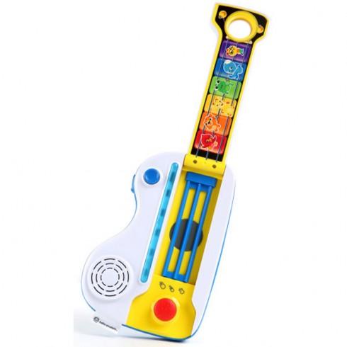 Chitara si pian Baby Einstein Flip & Riff Keytar 2 in 1