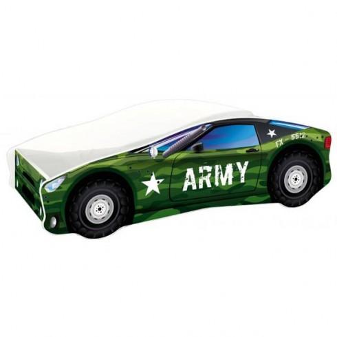 Patut MyKids Race Car 07 Army 140x70