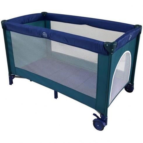 Patut pliabil Kidcity Easy Sleep Mamakids albastru