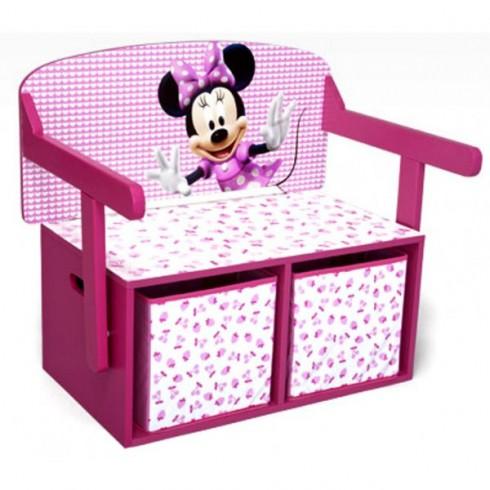 Bancuta Delta Children Disney Minnie Mouse 2 in 1