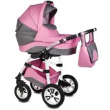 Carucior Vessanti Flamingo Easy Drive 3 in 1 pink