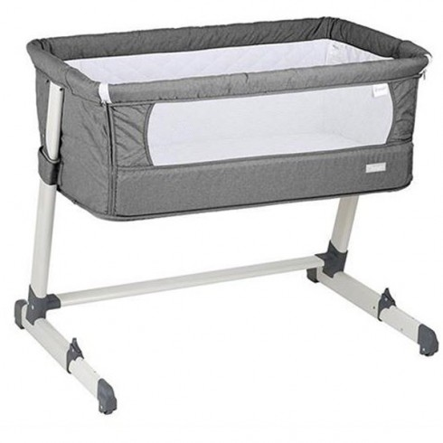 Cos BabyGo Co-sleeper Together 2 in 1 grey