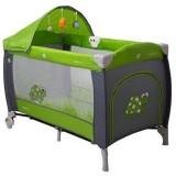 Patut pliabil Coto Baby Samba Lux green