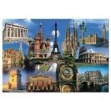 Puzzle Educa Collage Europe 2000 piese
