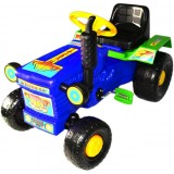 Tractor Super Plastic Toys Turbo blue