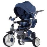 Tricicleta reversibila Sun Baby 007 Little Tiger melange blue