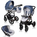 Carucior Vessanti Crooner Prestige 3 in 1 blue