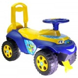 Masinuta de impins MyKids Music 0142 R 04 galben albastru