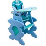 Scaun de masa Arti Betty J-d008 albastru deschis