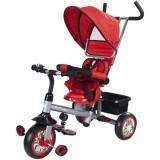 Tricicleta cu copertina si sezut reversibil Sun Baby Confort Plus rosu