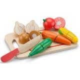 Jucarie New Classic Toys Platou cu legume