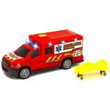 Masina ambulanta Dickie Toys City Ambulance Unit 25 cu accesorii {WWWWWproduct_manufacturerWWWWW}ZZZZZ]