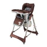 Scaun de masa BabyGo Tower Maxi brown