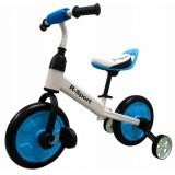 Bicicleta cu roti ajutatoare R-Sport P1 albastru