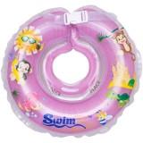Colac de gat Kidcity SwimBee pentru bebelusi Mov