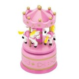 Jucarie New Classic Toys Carusel muzical pink
