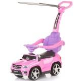 Masinuta de impins cu copertina Chipolino Mercedes Benz GL63 AMG pink