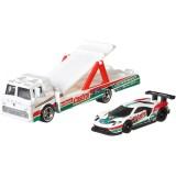 Camion Hot Wheels by Mattel Car Culture C-800 cu masina Ford GT Race {WWWWWproduct_manufacturerWWWWW}ZZZZZ]