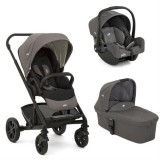 Carucior Joie Chrome 3 in 1 foggy gray