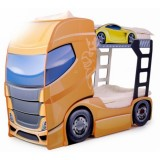 Patut camion MyKids Duo Scania+2 orange