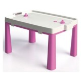 Set masuta si scaun taburet MyKids 045803 roz