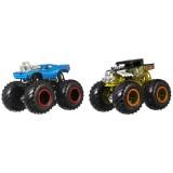 Set Hot Wheels by Mattel Monster Trucks Demolition Doubles Bone Shaker vs Rodger Dodger {WWWWWproduct_manufacturerWWWWW}ZZZZZ]