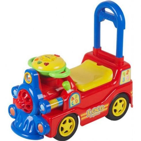 Locomotiva Baby Mix Loco rosu