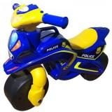 Motocicleta de impins MyKids Police Music 013957 albastru galben