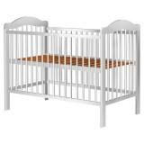 Patut copii din lemn Hubners Lizett 120x60 cm alb