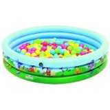 Piscina Bestway Mickey Mouse cu 75 bile