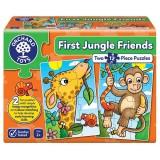 Puzzle Orchard Toys Primii Prieteni din Jungla