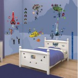Kit decor Walltastic Thunderbirds Are Go
