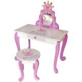 Masuta de frumusete cu scaunel Style Princess