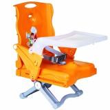 Scaun de masa pliabil Plebani Chef portocaliu