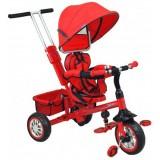 Tricicleta cu copertina si sezut reversibil Baby Mix UR-ETB32-2 rosu