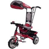 Tricicleta cu copertina Sun Baby Lux rosu