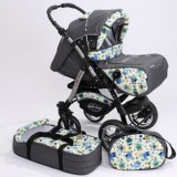 Carucior Baby Merc Junior Plus 2 in 1 Owls