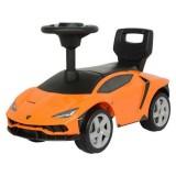 Masinuta de impins Ecotoys Lamborghini 3726A portocaliu