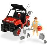 Masina Dickie Toys Playlife Park Ranger cu figurina si accesorii