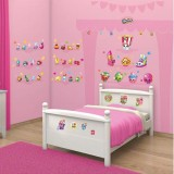 Kit decor Walltastic Shopkins