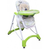 Scaun de masa Baby Mix Hungry Cats green