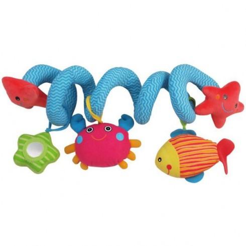 Spirala plush Baby Mix Pestisor