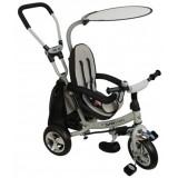 Tricicleta cu copertina si sezut reversibil Baby Mix Safari WS611 gri