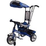 Tricicleta cu copertina Sun Baby Lux albastru