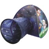 Cort de joaca Bino cu Tunel Astronaut