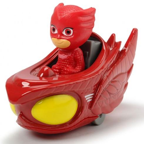 Masina Dickie Toys Eroi in Pijamale Owl-Glider cu figurina