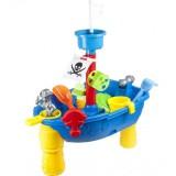 Masuta de joaca Knorrtoys Piratenschiff pentru apa si nisip